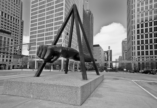 Jason Mrachina-Joe Louis' Fist - Detroit
