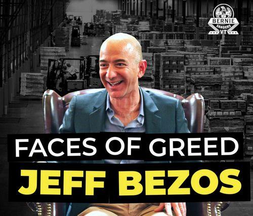 Sanders Bezos
