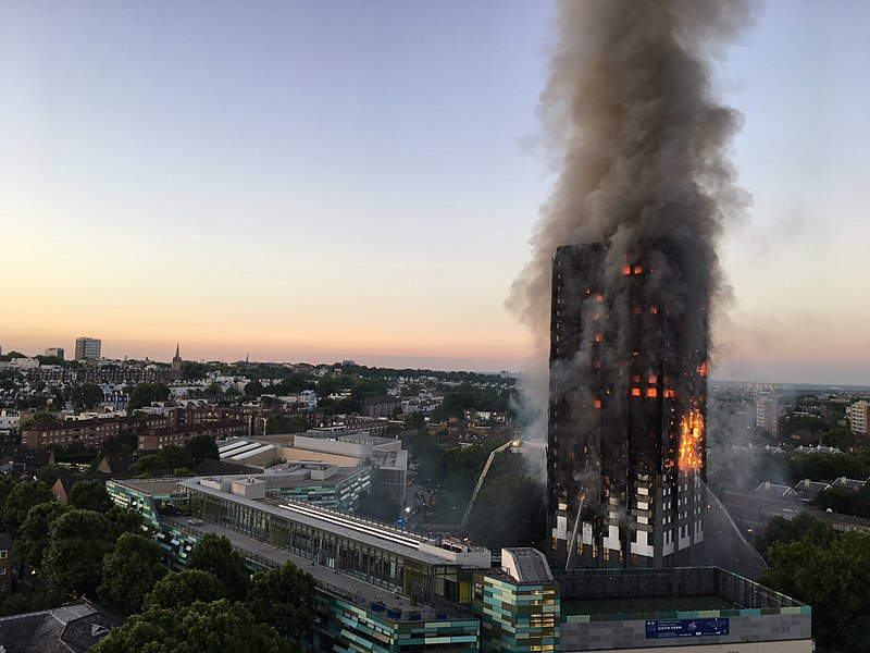800px Grenfell Tower Fire (wider View)