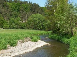 řeka Střela U Hrádku