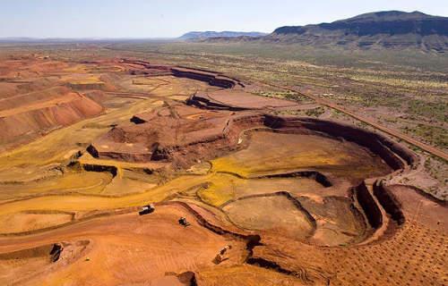 Australia Iron Ore Mine
